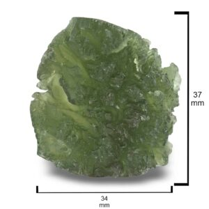 Rough Moldavite 95ct Collector's Piece
