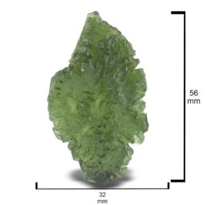 Rough Moldavite 90ct Collector's Piece