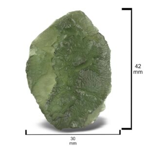 Rough Moldavite 98ct Collector's Piece