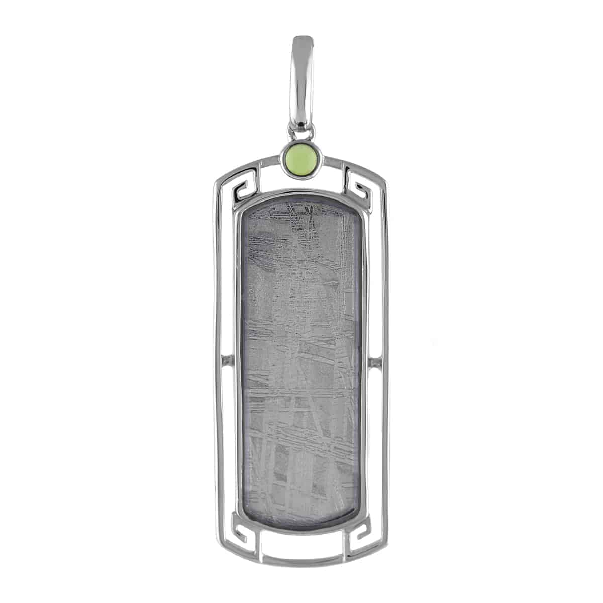 Silver Geode Slice Agate Pendant Sapphires Peridot With 20 inch 925 Sterling Silver Ball Chain